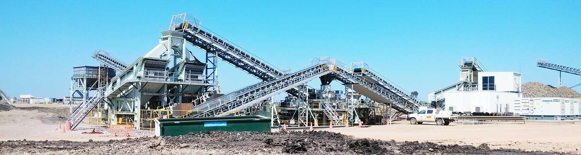 大型破碎机和河卵石制砂机供应商